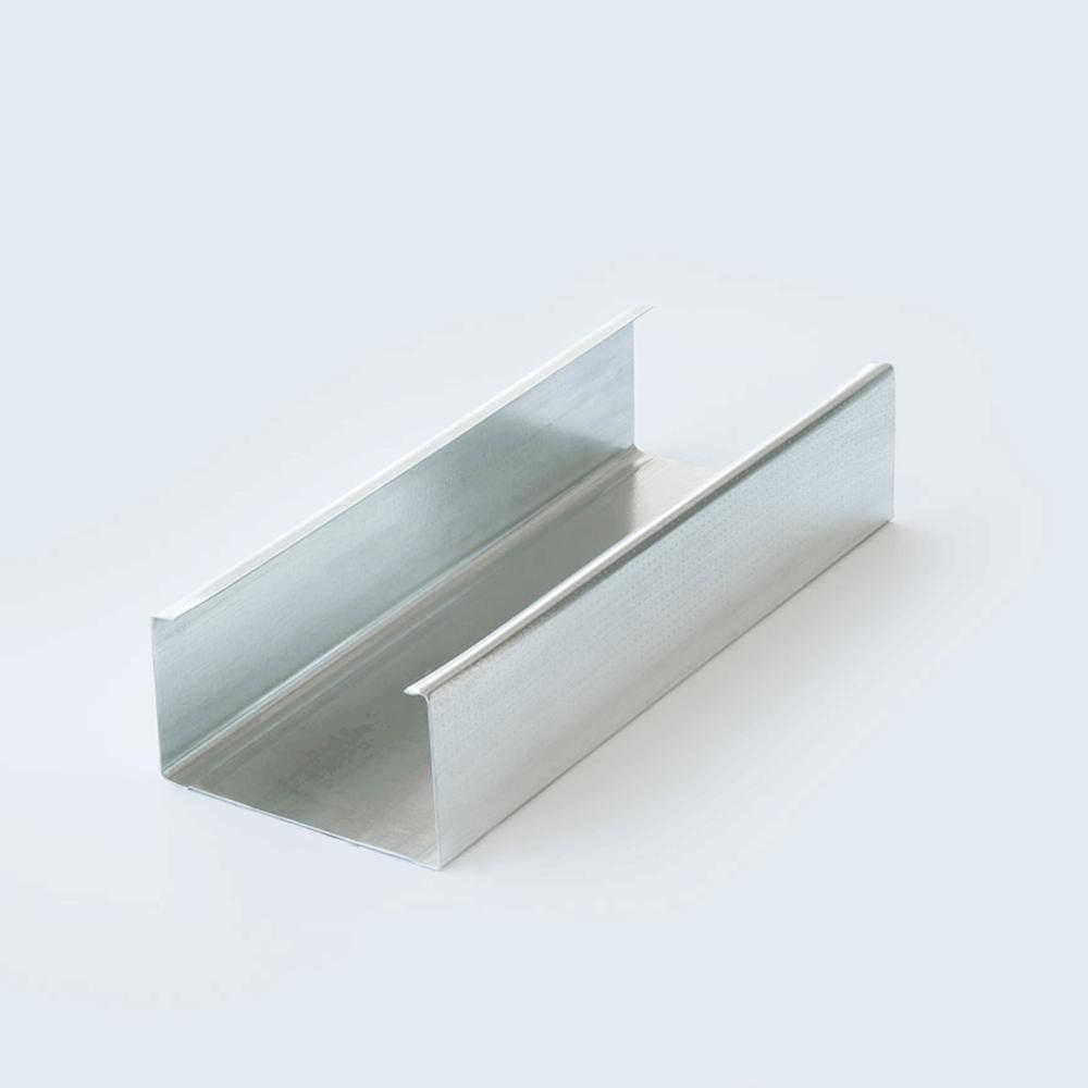 Duvar C Profili 75`lik 3 Metre