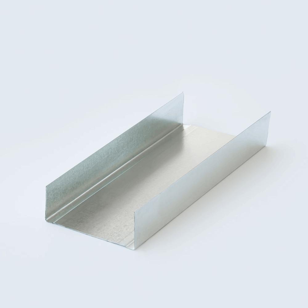 Duvar U Profili 75`lik 3 Metre
