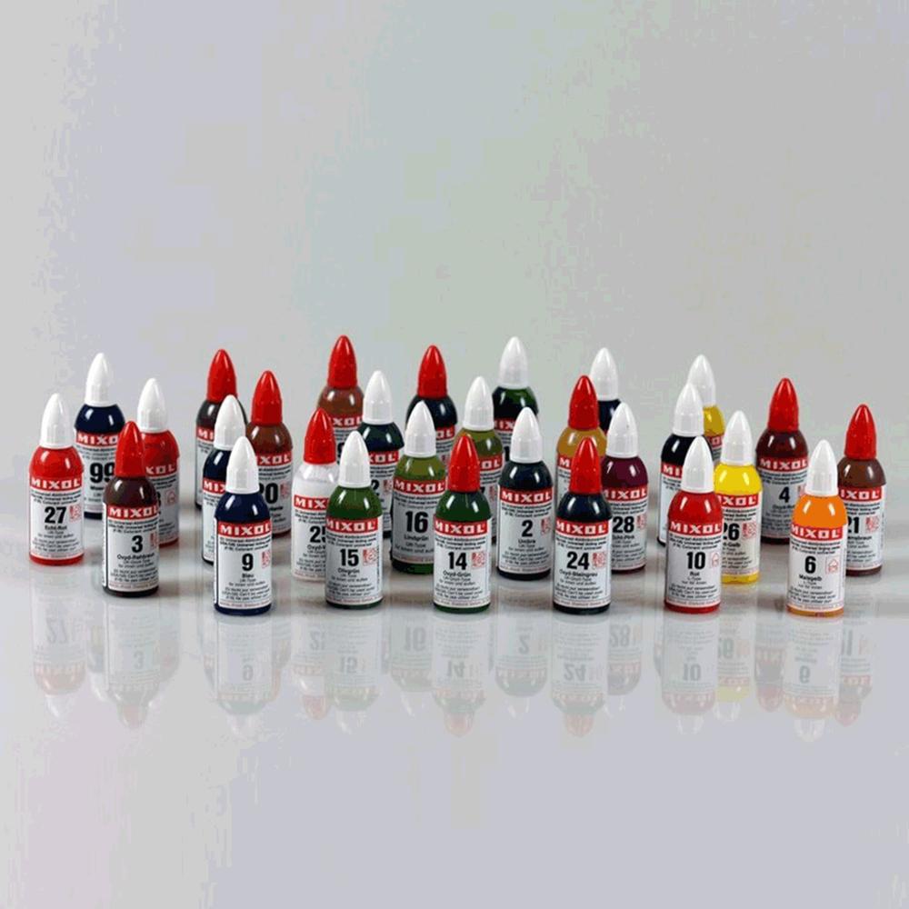 Mixol Renk Tüpleri 20 Ml