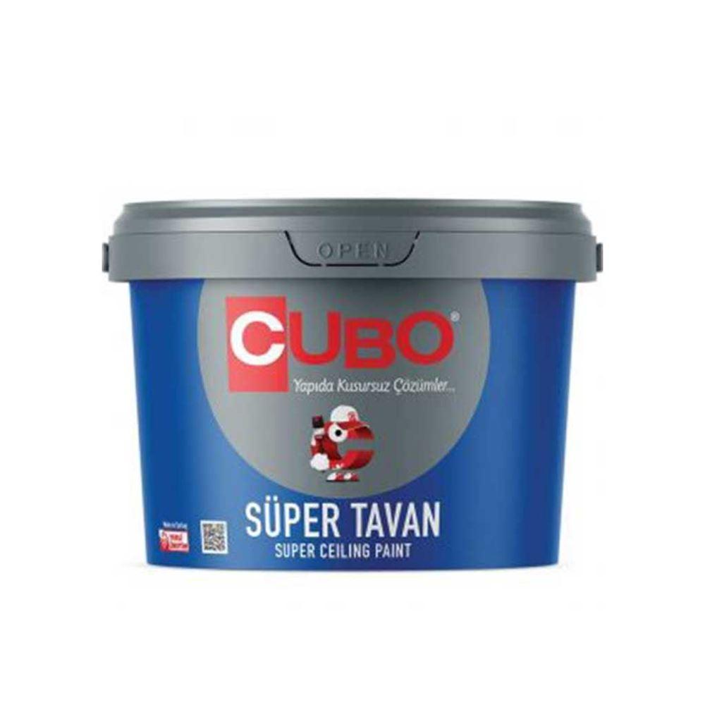 Cubo Süper Tavan Boyası 10 Kg