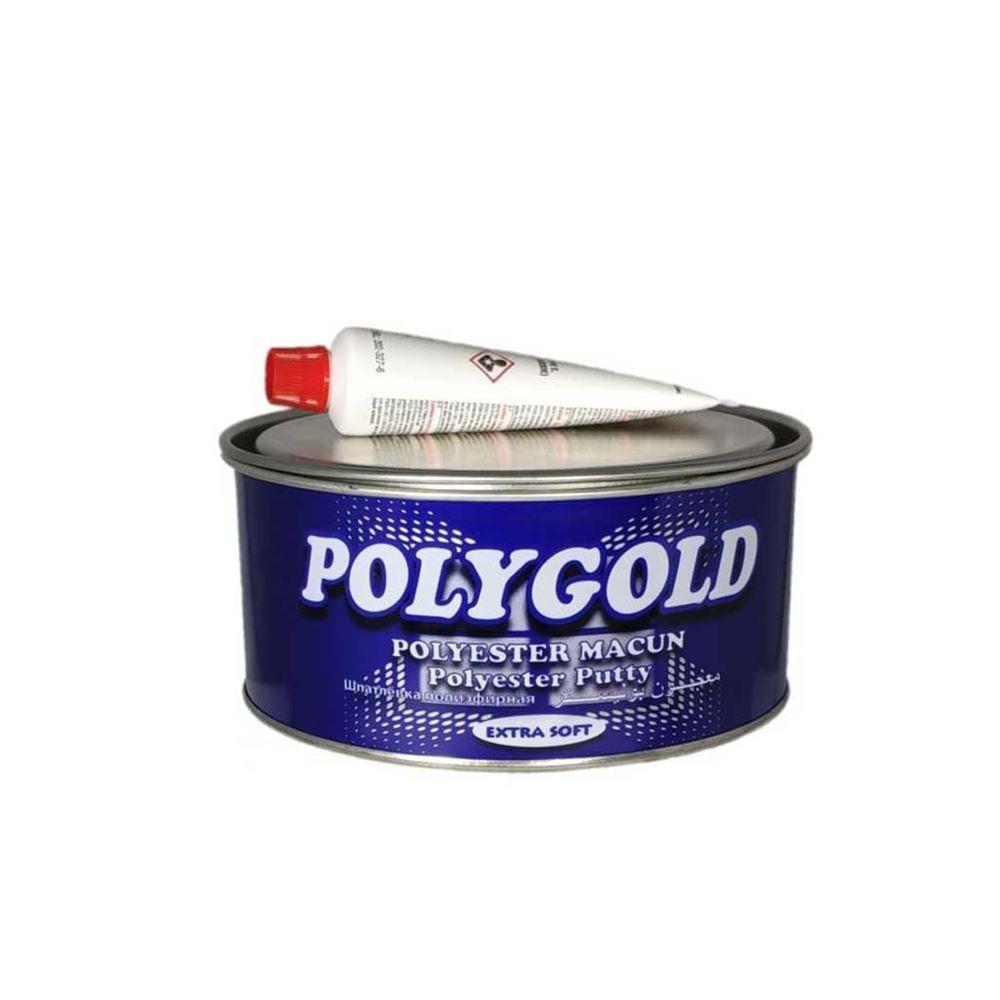 Polygold Extra Polyester Çelik Macun 500 gr