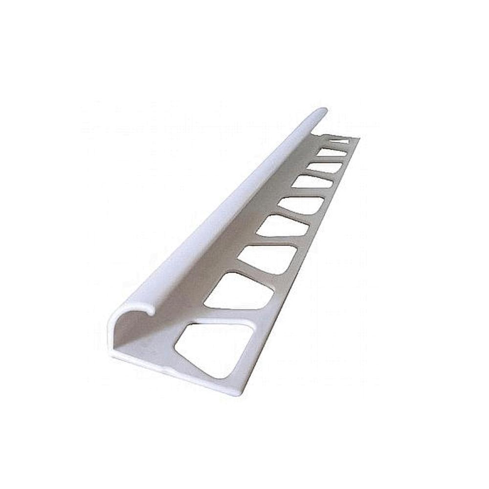 Seramik Çıtası Plastik 8 mm  Beyaz