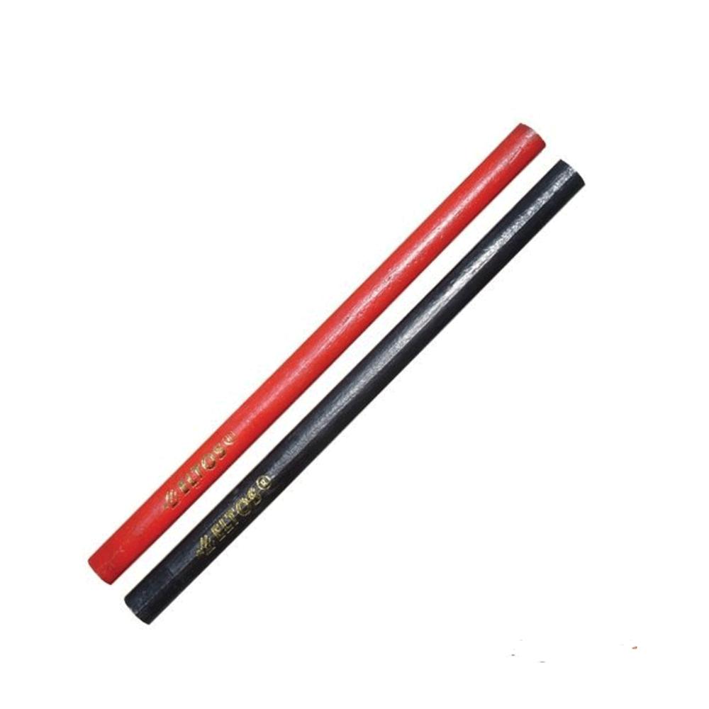 Marangoz Kalemi Kırmızı Siyah